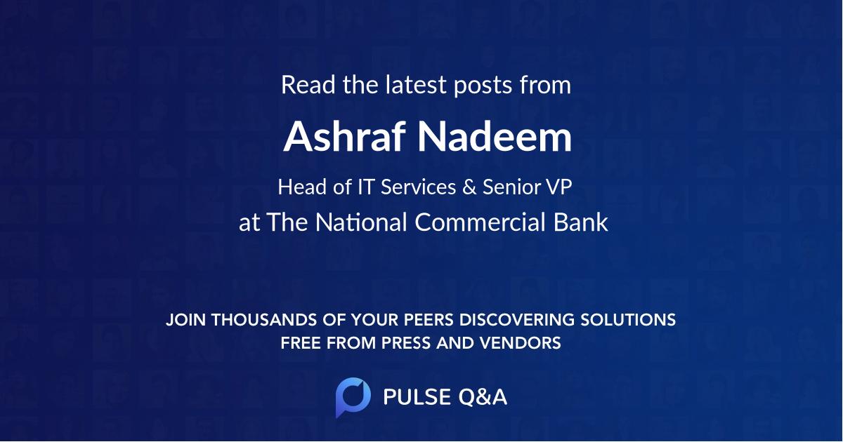 Ashraf Nadeem