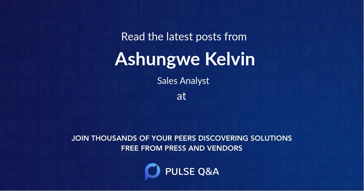 Ashungwe Kelvin