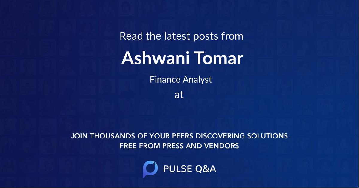 Ashwani Tomar