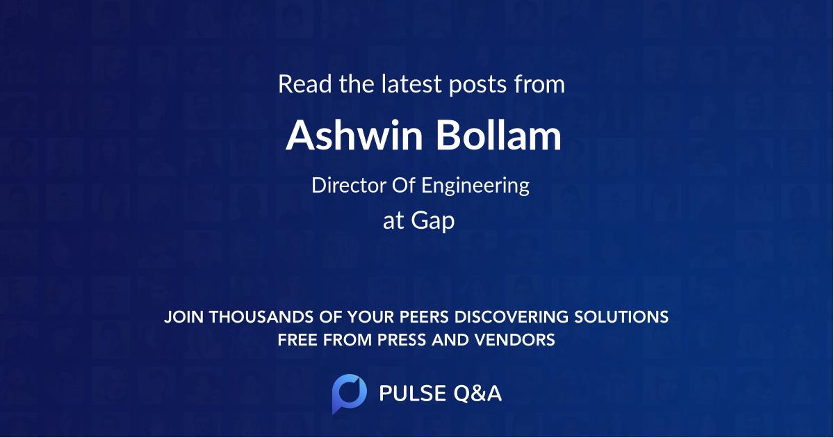 Ashwin Bollam