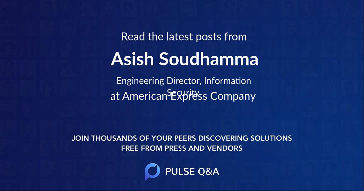 Asish Soudhamma