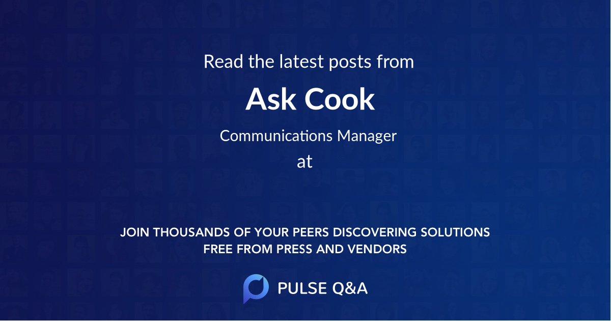 Ask Cook