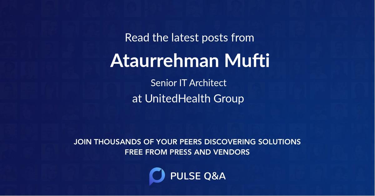 Ataurrehman Mufti