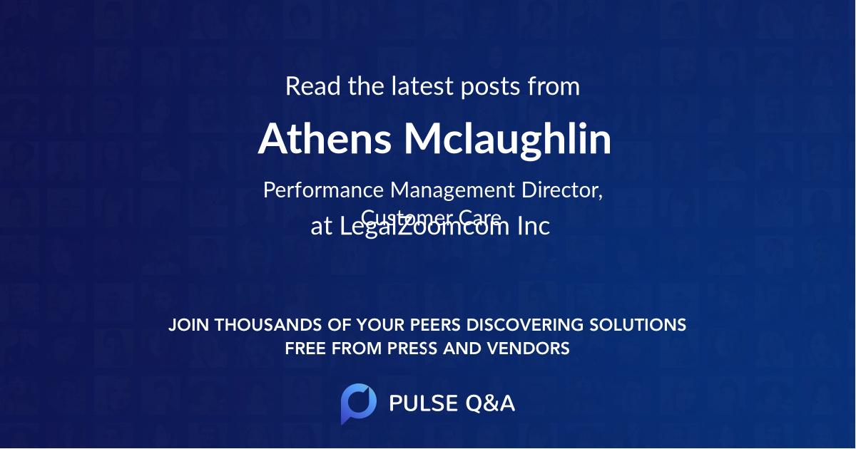 Athens Mclaughlin