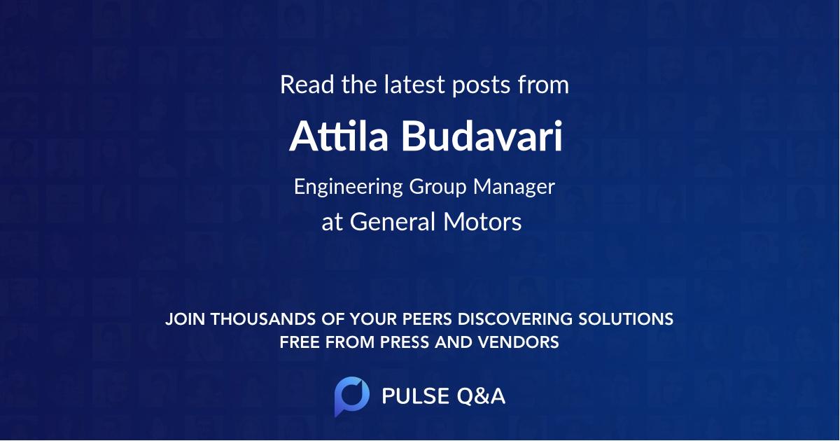Attila Budavari