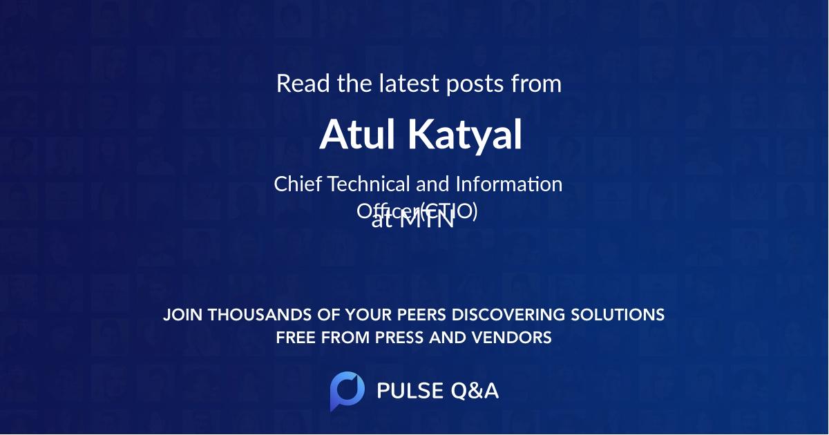 Atul Katyal