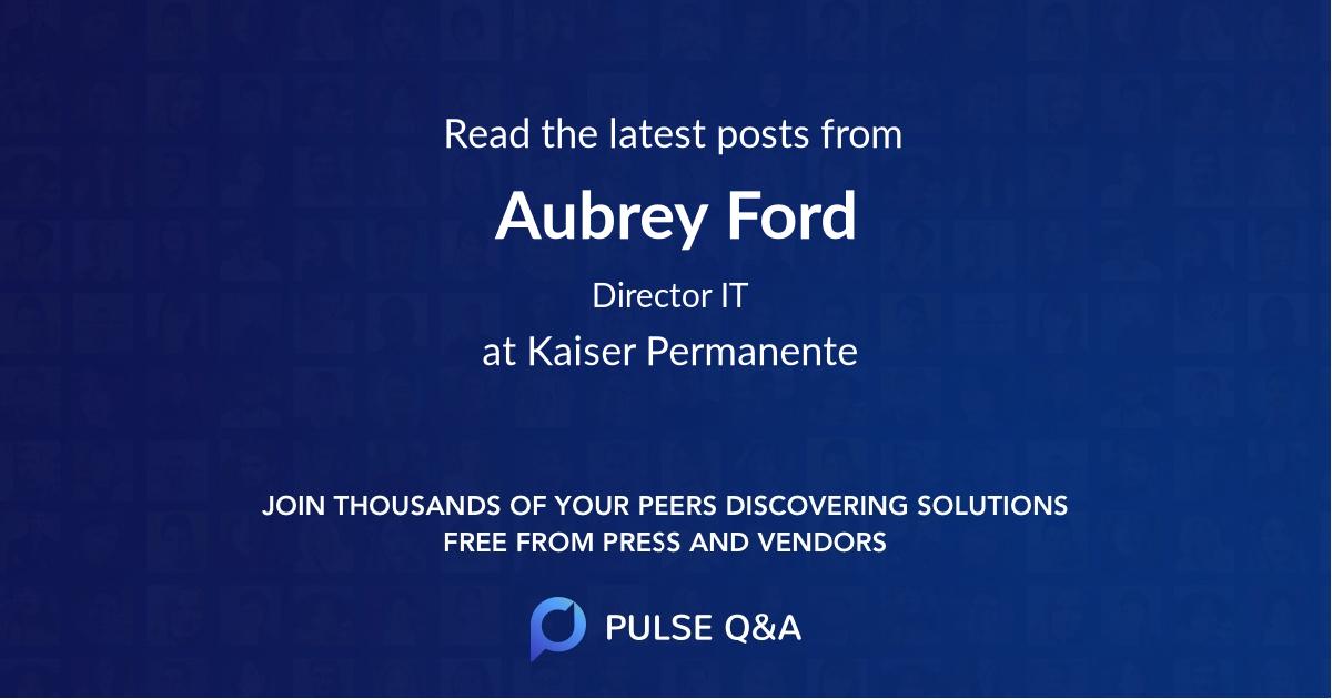 Aubrey Ford