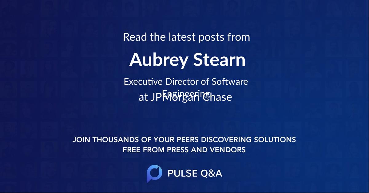 Aubrey Stearn