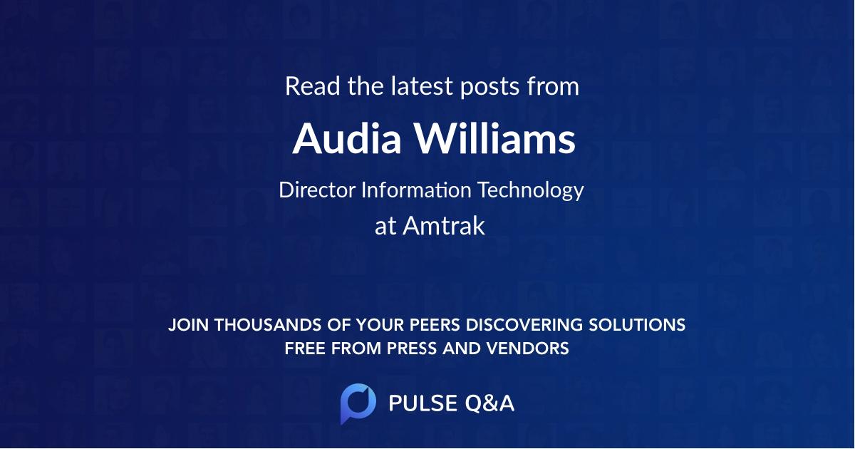 Audia Williams