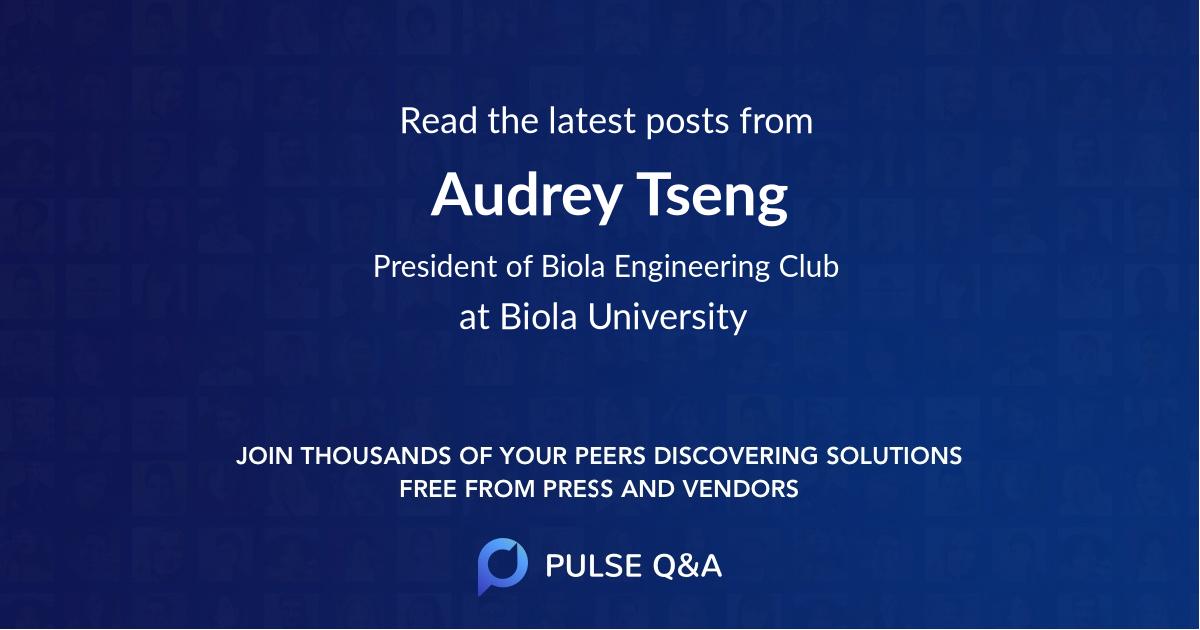 Audrey Tseng
