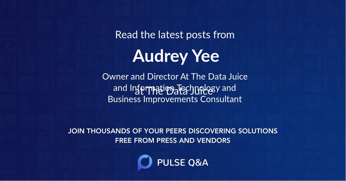 Audrey Yee