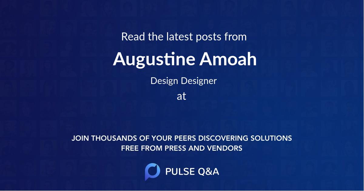 Augustine Amoah