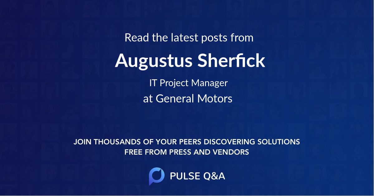 Augustus Sherfick