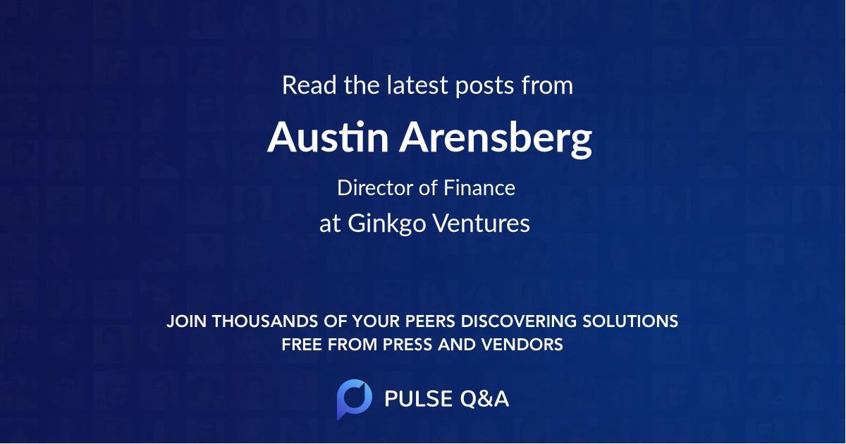 Austin Arensberg