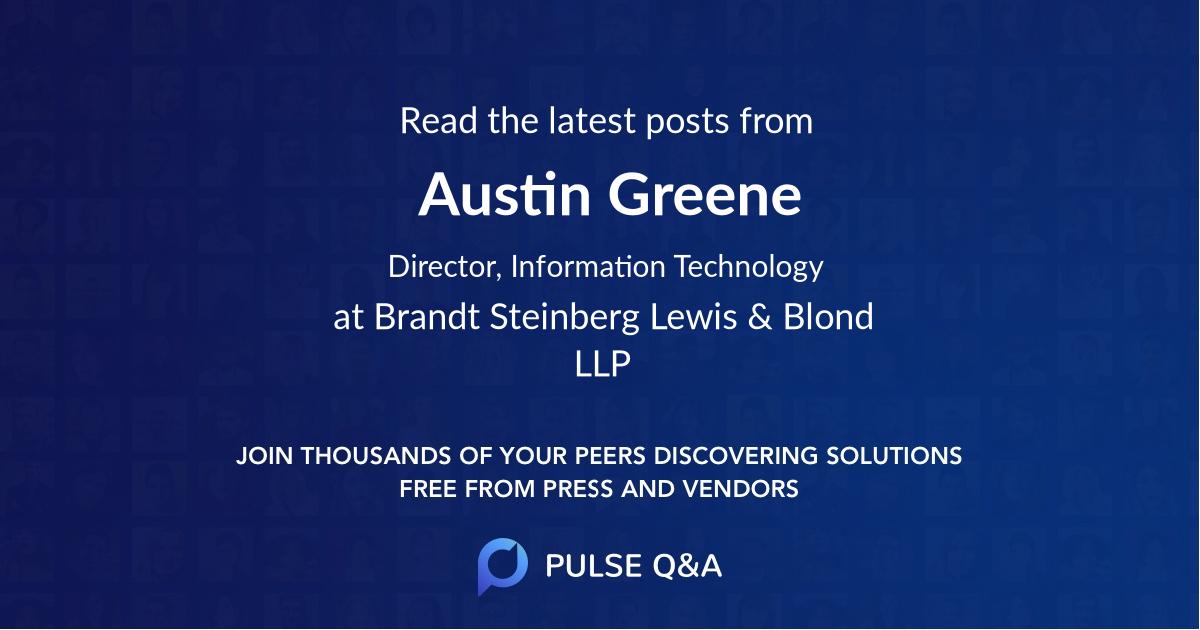 Austin Greene