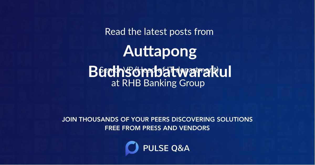 Auttapong Budhsombatwarakul