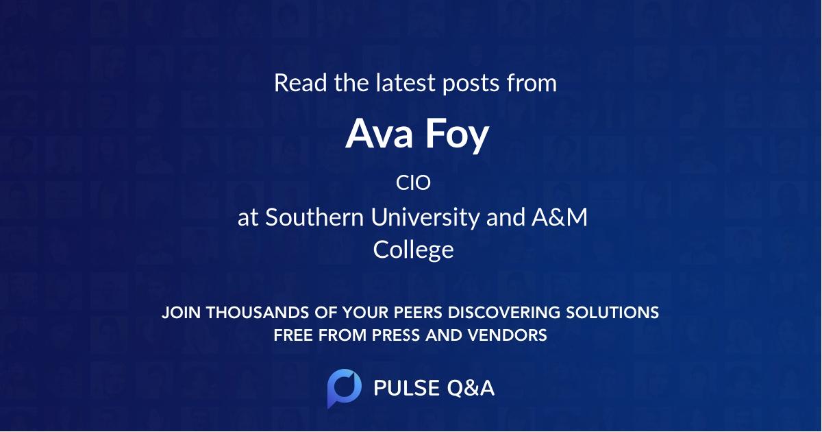 Ava Foy