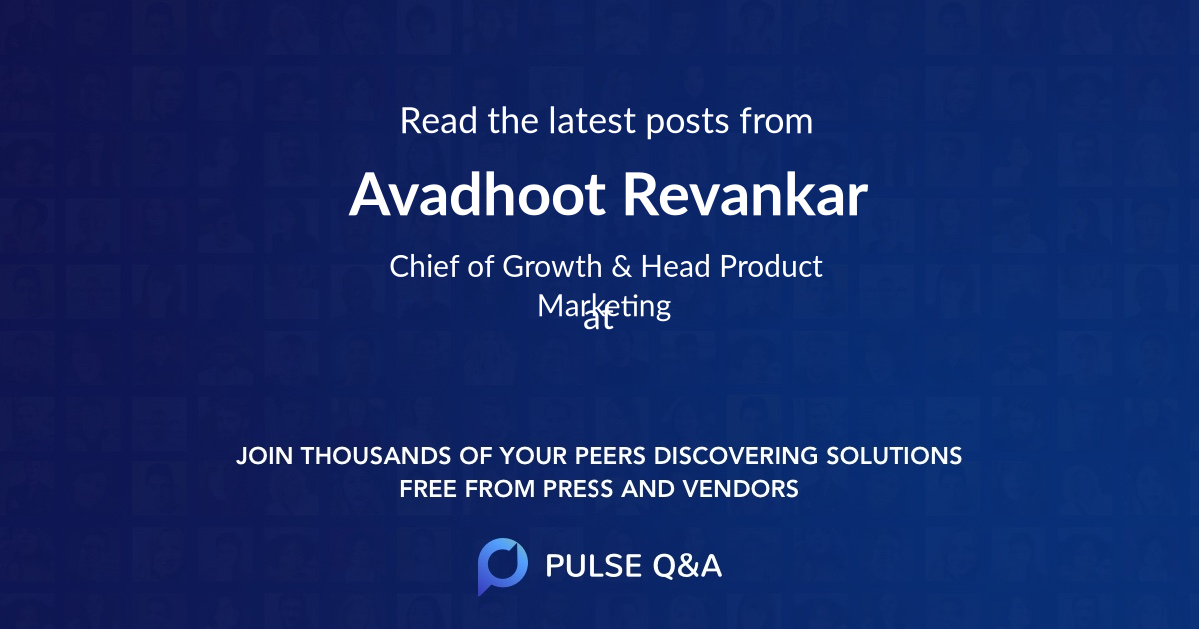 Avadhoot Revankar