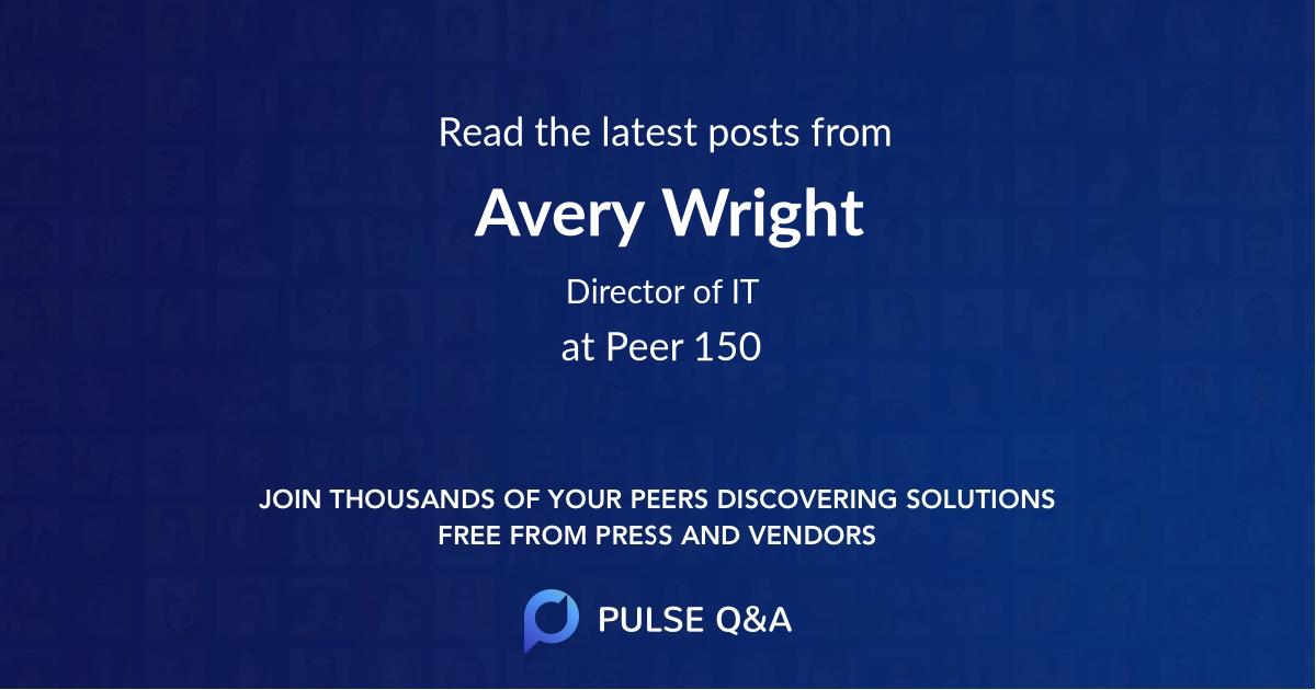 Avery Wright