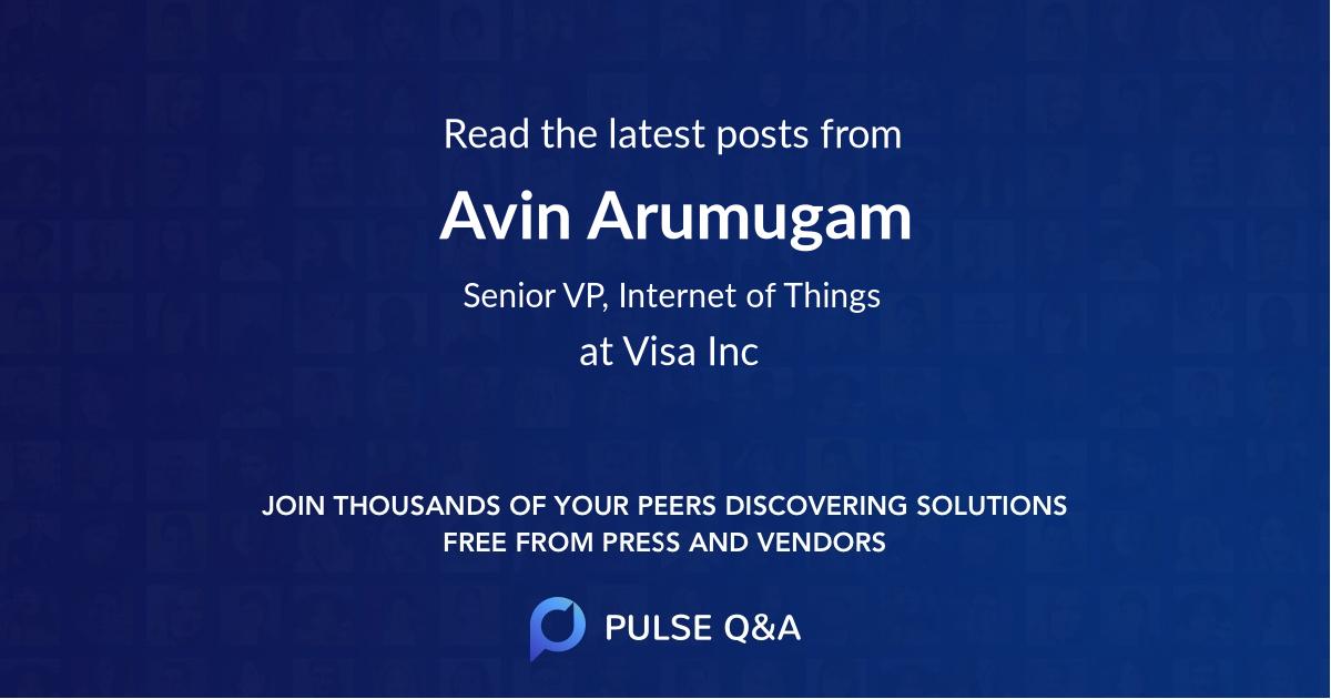 Avin Arumugam