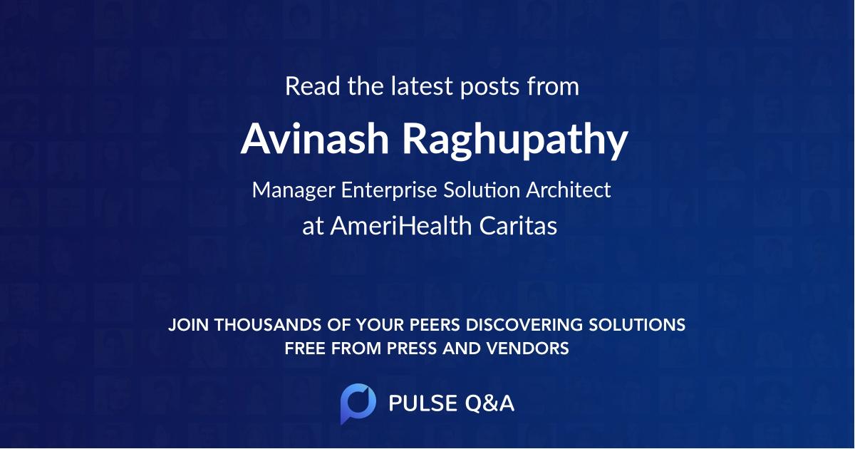 Avinash Raghupathy