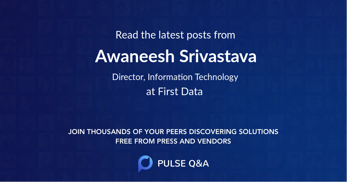 Awaneesh Srivastava