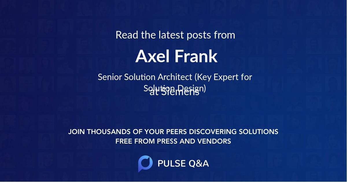 Axel Frank