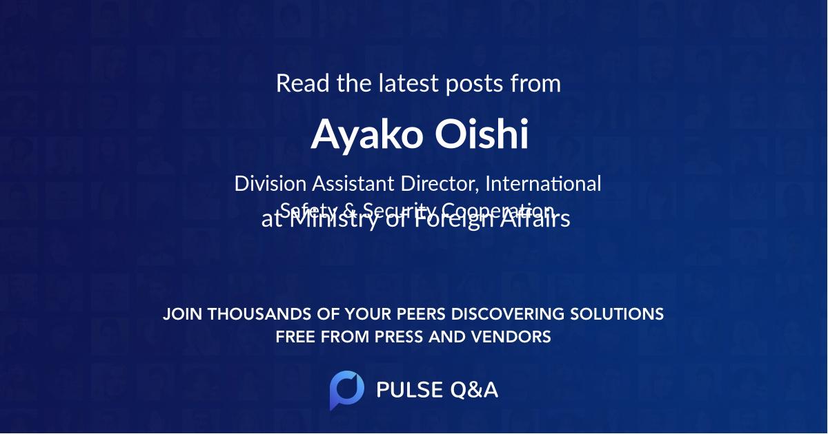 Ayako Oishi