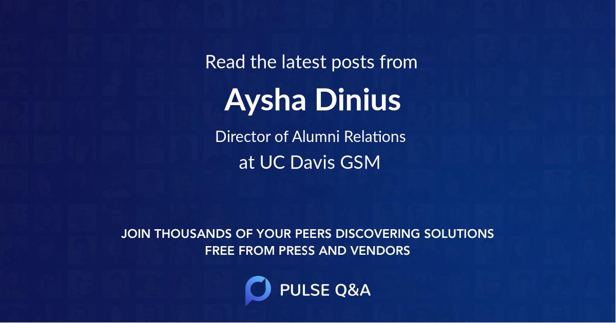 Aysha Dinius