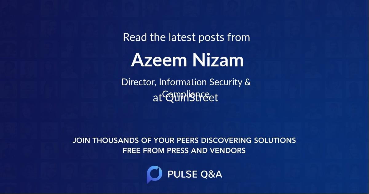 Azeem Nizam
