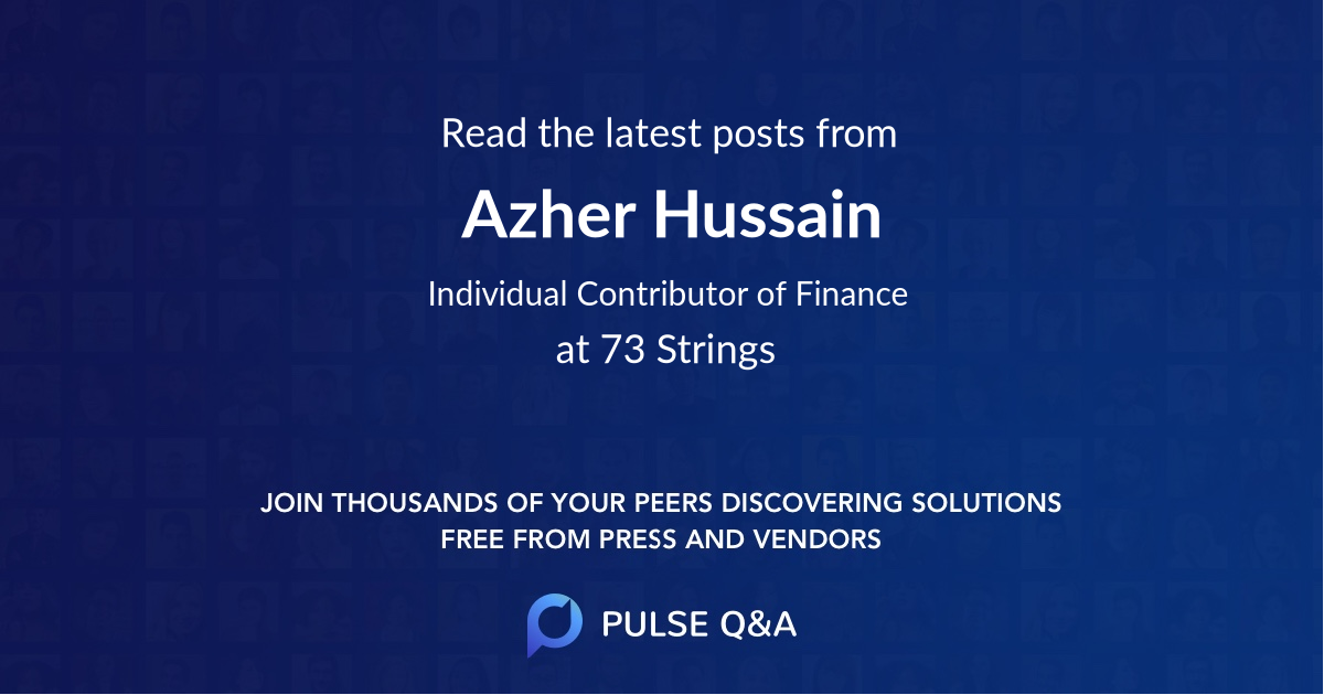 Azher Hussain