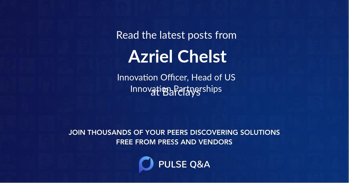 Azriel Chelst