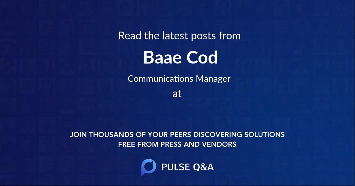 Baae Cod