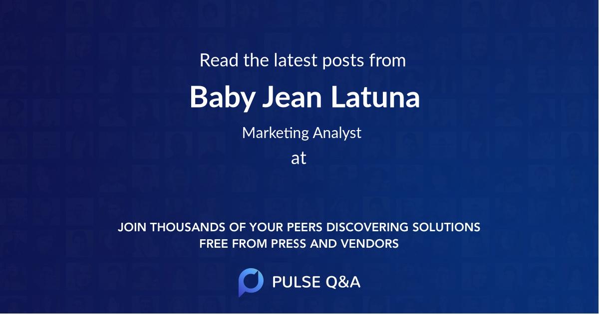 Baby Jean Latuna