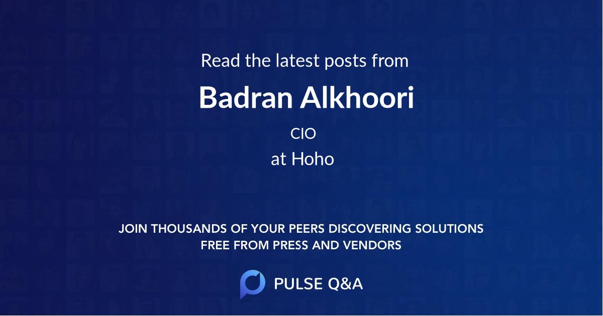 Badran Alkhoori