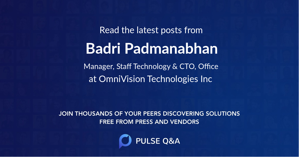 Badri Padmanabhan