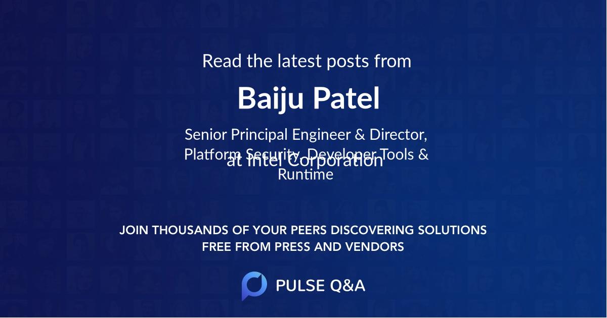Baiju Patel