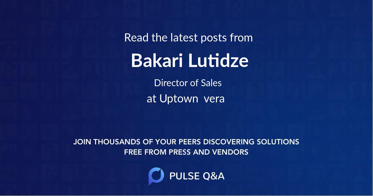 Bakari Lutidze