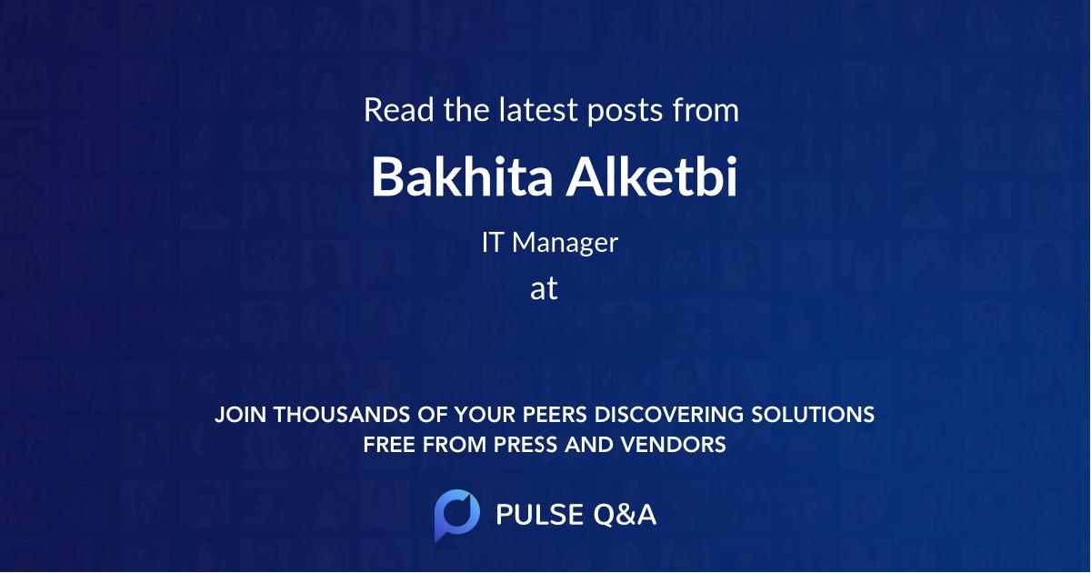 Bakhita Alketbi