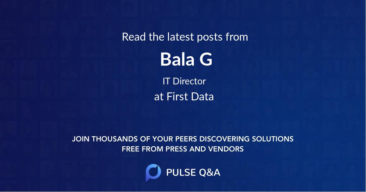 Bala G