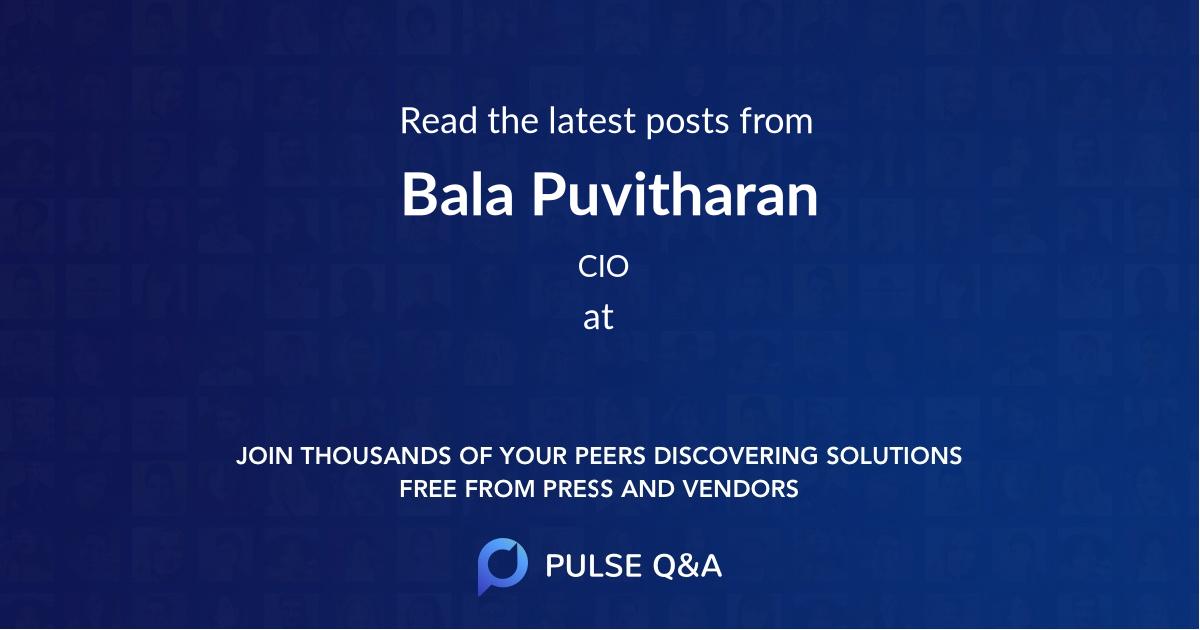 Bala Puvitharan