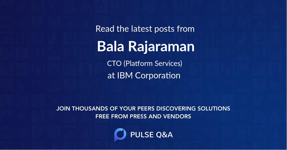 Bala Rajaraman