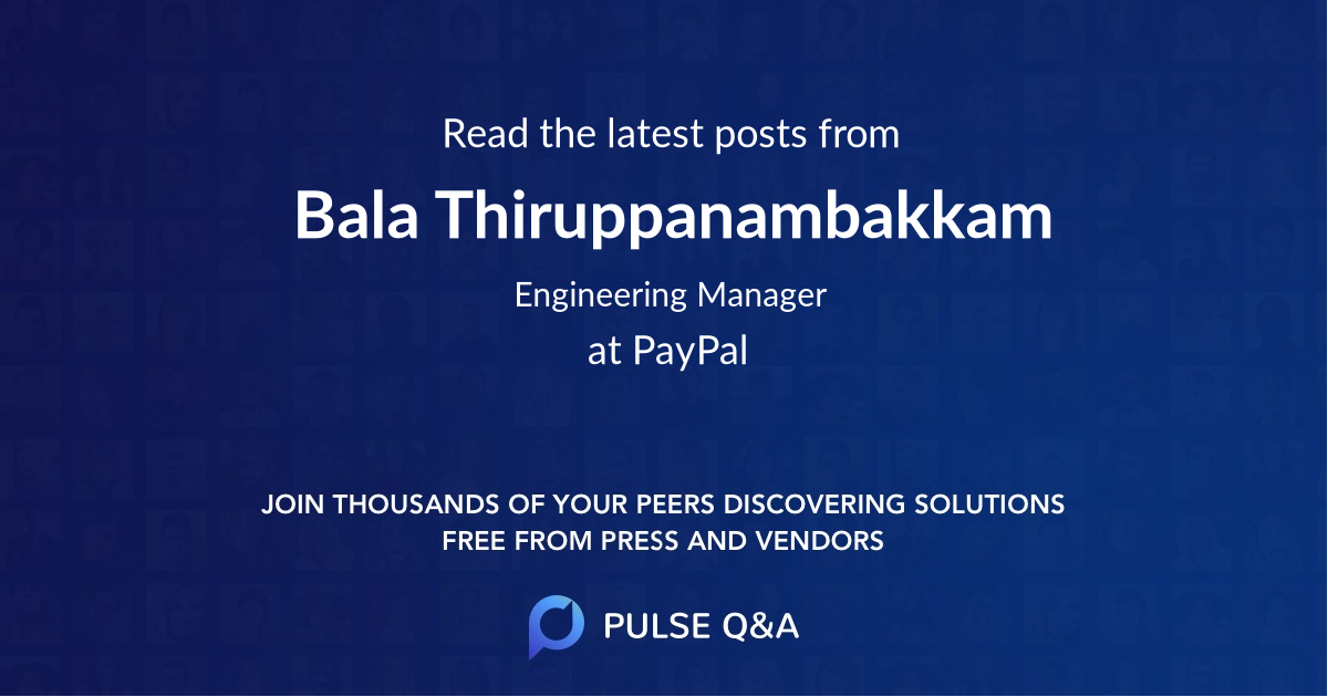Bala Thiruppanambakkam
