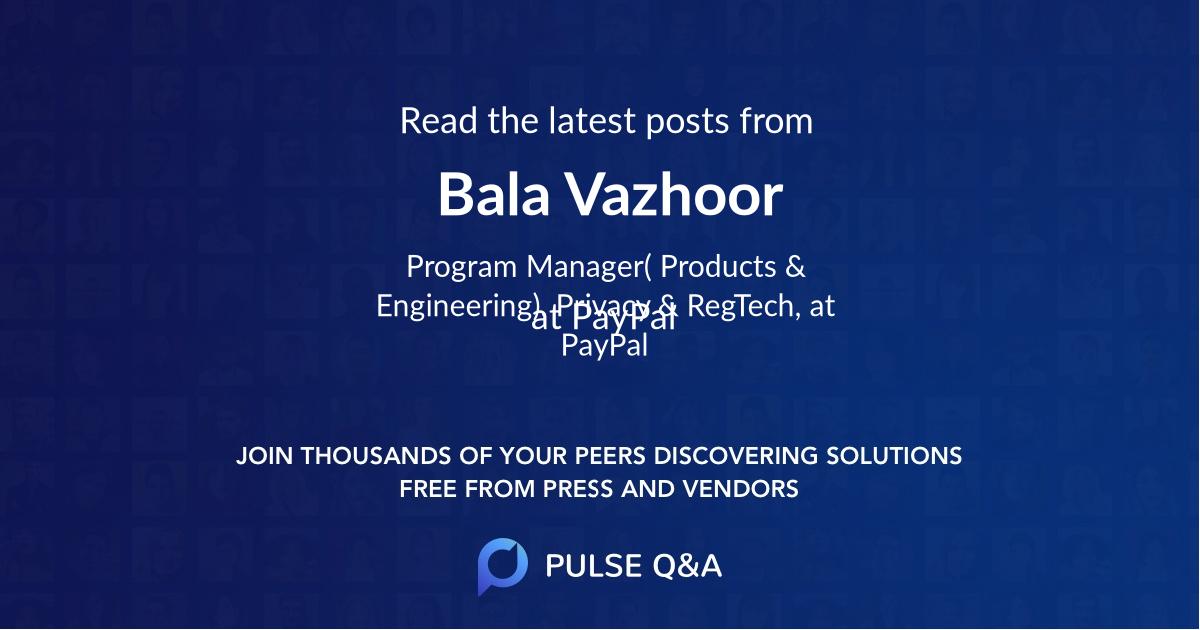 Bala Vazhoor