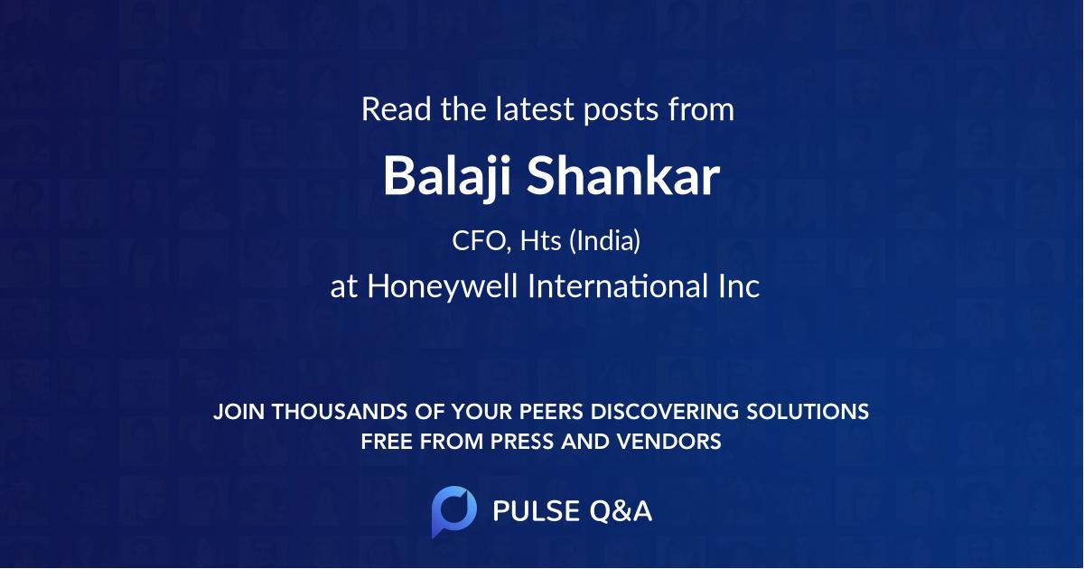Balaji Shankar