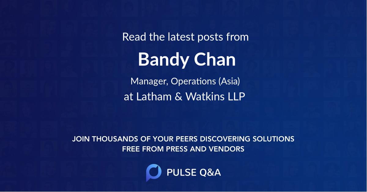 Bandy Chan