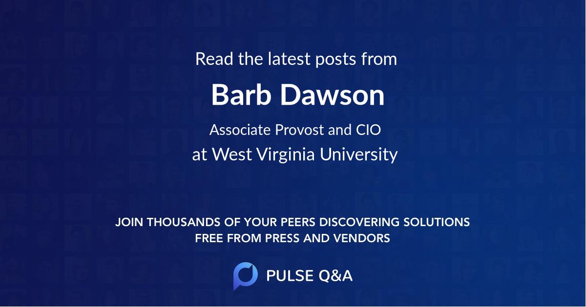 Barb Dawson
