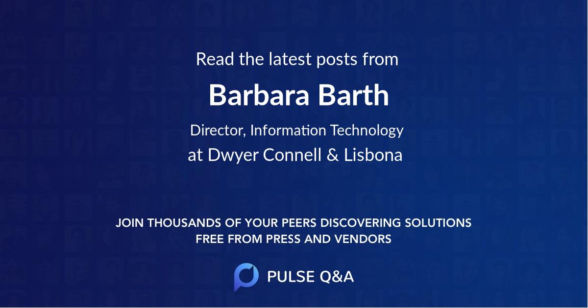 Barbara Barth