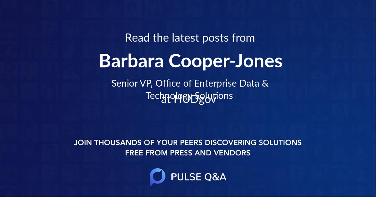 Barbara Cooper-Jones