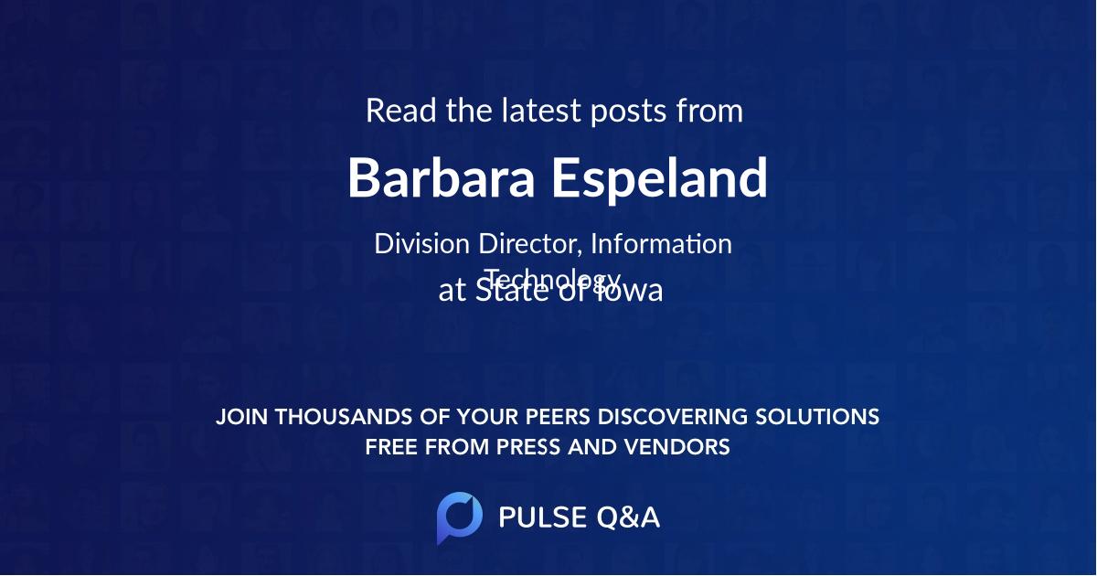 Barbara Espeland